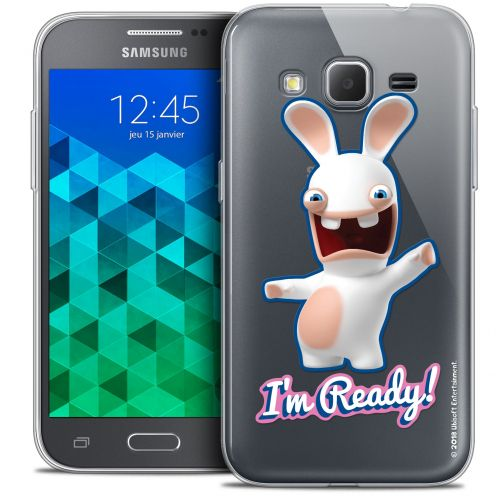 Coque Samsung Galaxy Core Prime (G360) Extra Fine Lapins Crétins™ - I'm Ready !