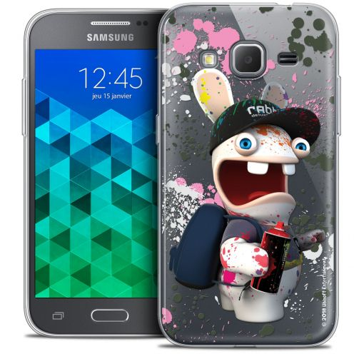 Coque Samsung Galaxy Core Prime (G360) Extra Fine Lapins Crétins™ - Painter