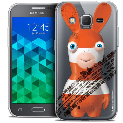 Coque Samsung Galaxy Core Prime (G360) Extra Fine Lapins Crétins™ - On the Road