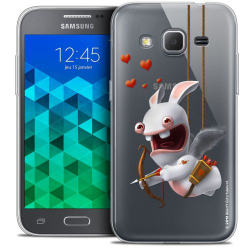 Coque Samsung Galaxy Core Prime (G360) Extra Fine Lapins Crétins™ - Flying Cupidon