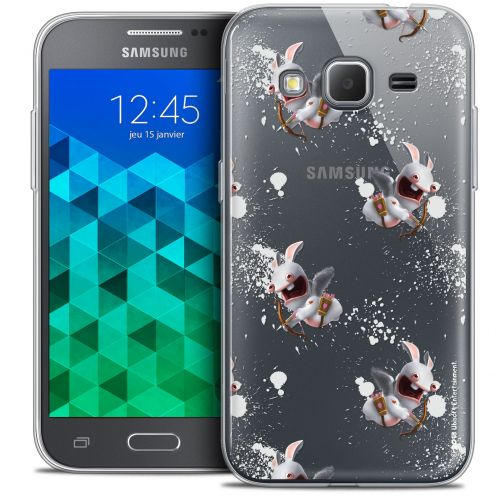 Coque Samsung Galaxy Core Prime (G360) Extra Fine Lapins Crétins™ - Cupidon Pattern
