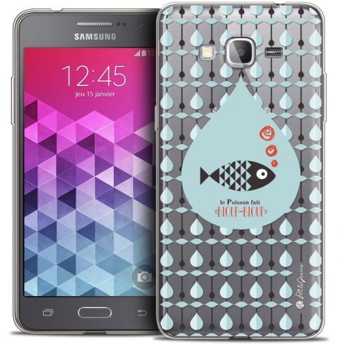 Coque Galaxy Grand Prime Extra Fine Petits Grains® - Le Poisson