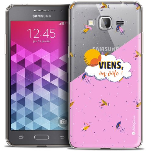 Coque Galaxy Grand Prime Extra Fine Petits Grains® - VIENS, On Vole !