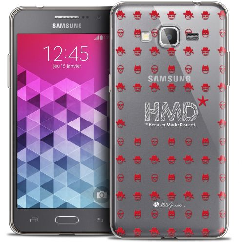 Coque Galaxy Grand Prime Extra Fine Petits Grains® - HMD* Hero en Mode Discret