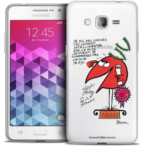 Coque Galaxy Grand Prime Extra Fine Les Shadoks® - Intelligent