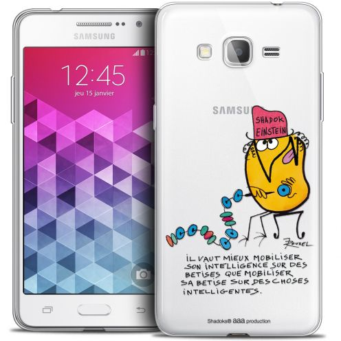Coque Galaxy Grand Prime Extra Fine Les Shadoks® - Einstein