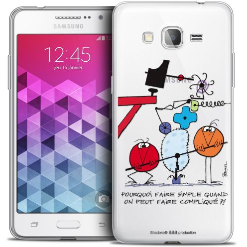 Coque Galaxy Grand Prime Extra Fine Les Shadoks® - Pourquoi faire Simple