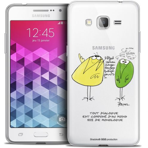 Coque Galaxy Grand Prime Extra Fine Les Shadoks® - Le Dialogue