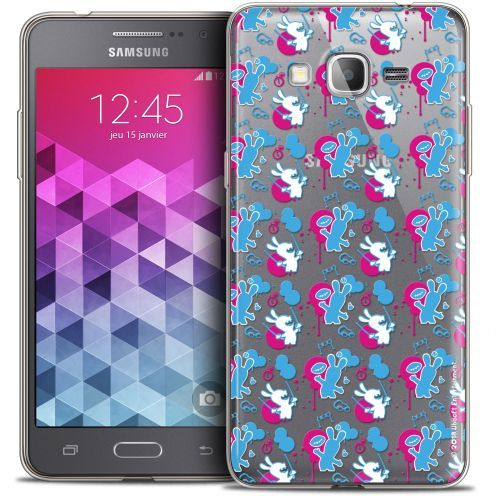 Coque Galaxy Grand Prime Extra Fine Lapins Crétins™ - Rugby Pattern