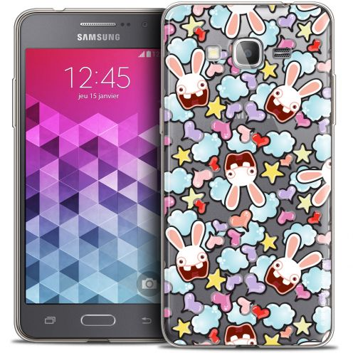 Coque Galaxy Grand Prime Extra Fine Lapins Crétins™ - Love Pattern
