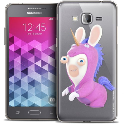 Coque Galaxy Grand Prime Extra Fine Lapins Crétins™ - Licorne