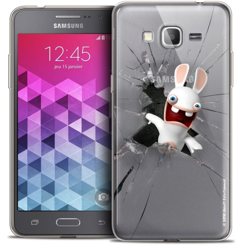 Coque Galaxy Grand Prime Extra Fine Lapins Crétins™ - Breaking Glass