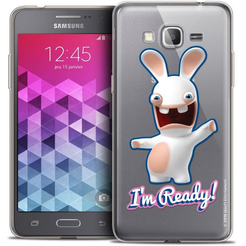 Coque Galaxy Grand Prime Extra Fine Lapins Crétins™ - I'm Ready !
