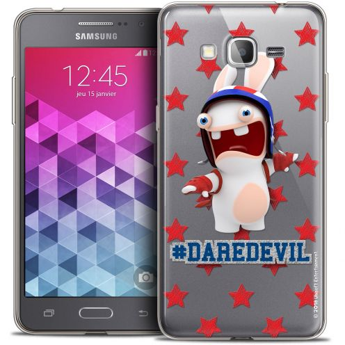 Coque Galaxy Grand Prime Extra Fine Lapins Crétins™ - Dare Devil