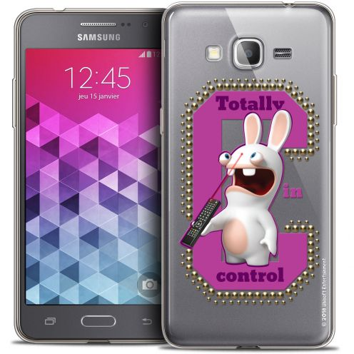 Coque Galaxy Grand Prime Extra Fine Lapins Crétins™ - In Control !
