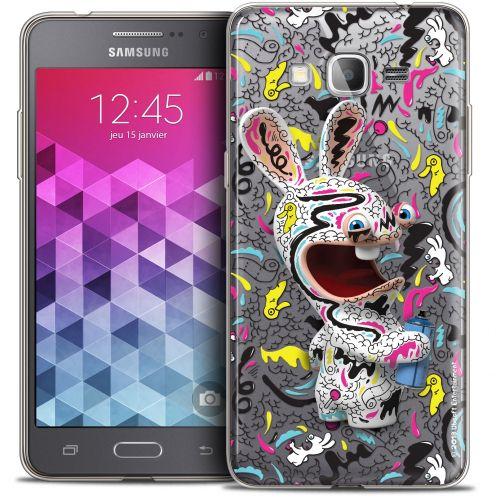 Coque Galaxy Grand Prime Extra Fine Lapins Crétins™ - Tag