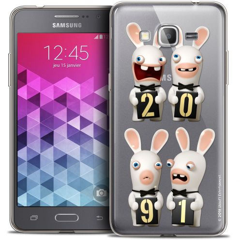 Coque Galaxy Grand Prime Extra Fine Lapins Crétins™ - New Year