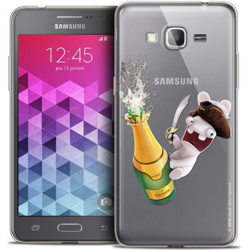 Coque Galaxy Grand Prime Extra Fine Lapins Crétins™ - Champagne !