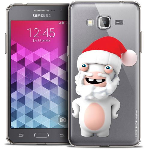Coque Galaxy Grand Prime Extra Fine Lapins Crétins™ - Lapin Noël