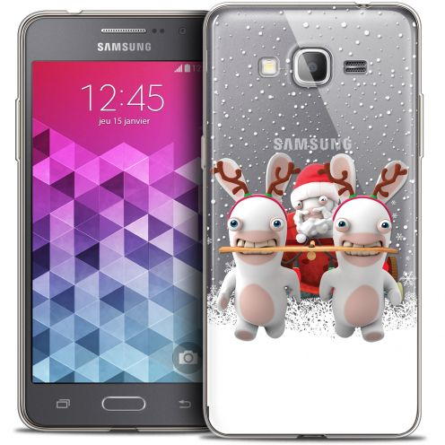 Coque Galaxy Grand Prime Extra Fine Lapins Crétins™ - Lapin Traineau