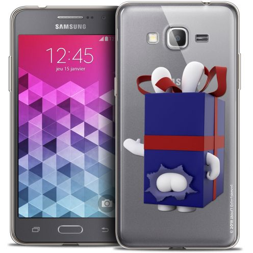 Coque Galaxy Grand Prime Extra Fine Lapins Crétins™ - Lapin Surprise Bleu