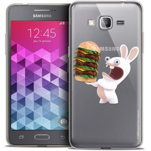 Coque Galaxy Grand Prime Extra Fine Lapins Crétins™ - Burger Crétin