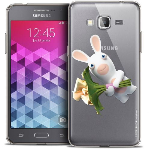 Coque Galaxy Grand Prime Extra Fine Lapins Crétins™ - Bouquet Crétin
