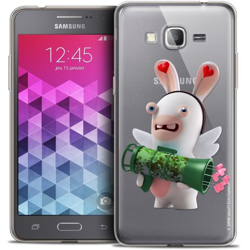 Coque Galaxy Grand Prime Extra Fine Lapins Crétins™ - Cupidon Soldat