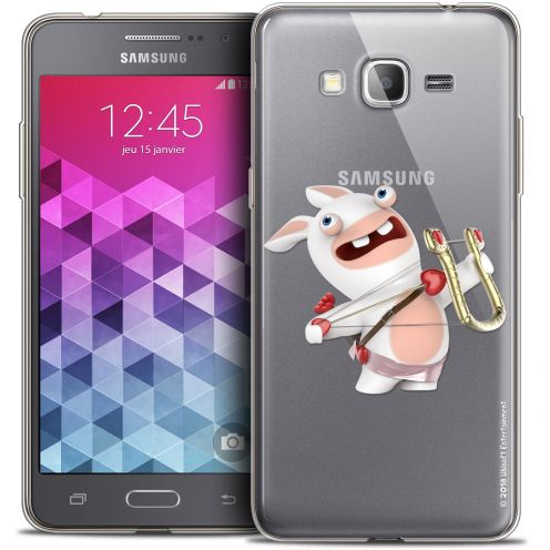 Coque Galaxy Grand Prime Extra Fine Lapins Crétins™ - Cupidon Crétin