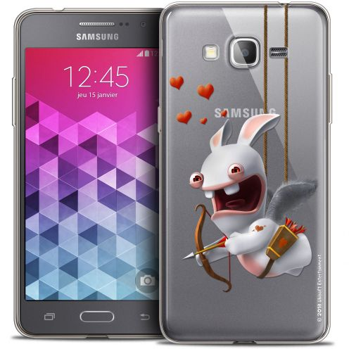 Coque Galaxy Grand Prime Extra Fine Lapins Crétins™ - Flying Cupidon