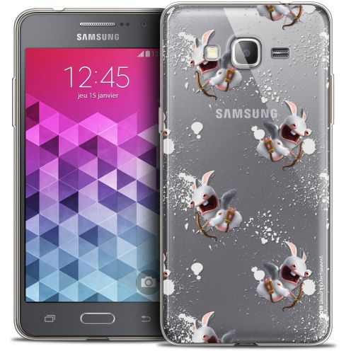 Coque Galaxy Grand Prime Extra Fine Lapins Crétins™ - Cupidon Pattern