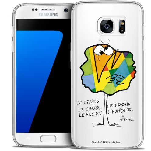Coque Galaxy S7 Extra Fine Les Shadoks® - Chaud ou Froid