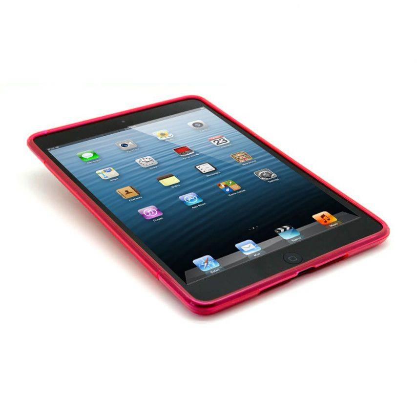 Visuel unique de Coque iPad Mini Tpu Basics S-Line Rouge