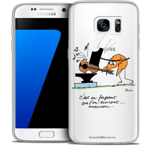 Coque Galaxy S7 Extra Fine Les Shadoks® - Musicien