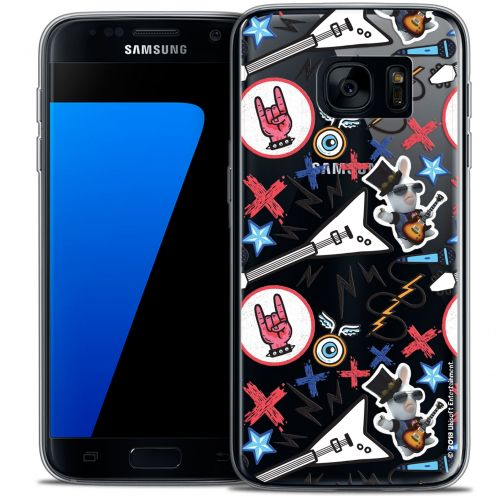 Coque Galaxy S7 Extra Fine Lapins Crétins™ - Rock Pattern