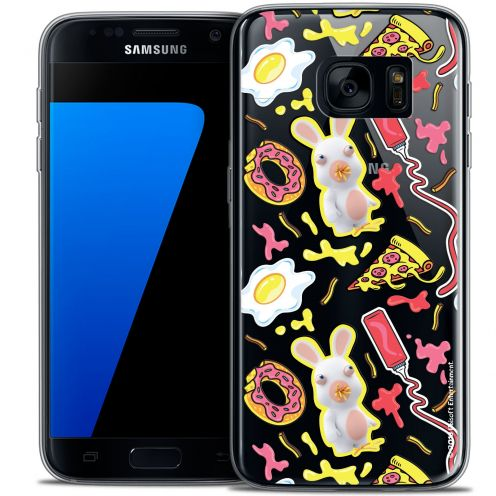 Coque Galaxy S7 Extra Fine Lapins Crétins™ - Egg Pattern