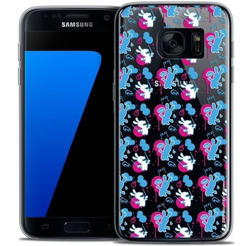 Coque Galaxy S7 Extra Fine Lapins Crétins™ - Rugby Pattern