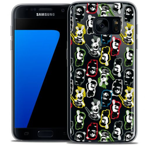 Coque Galaxy S7 Extra Fine Lapins Crétins™ - Punk Pattern