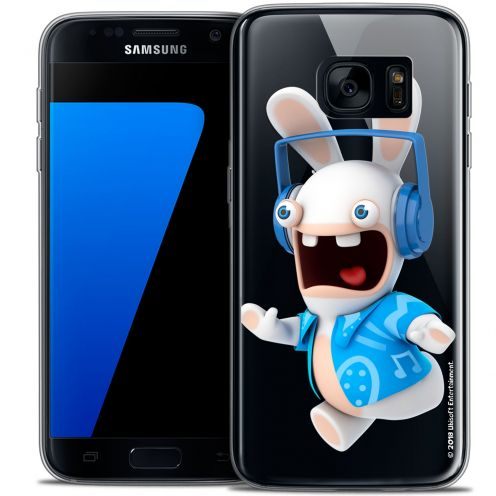 Coque Galaxy S7 Extra Fine Lapins Crétins™ - Techno Lapin