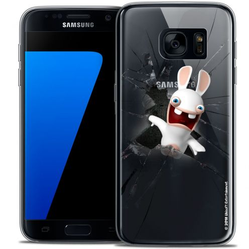 Coque Galaxy S7 Extra Fine Lapins Crétins™ - Breaking Glass
