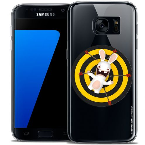 Coque Galaxy S7 Extra Fine Lapins Crétins™ - Target