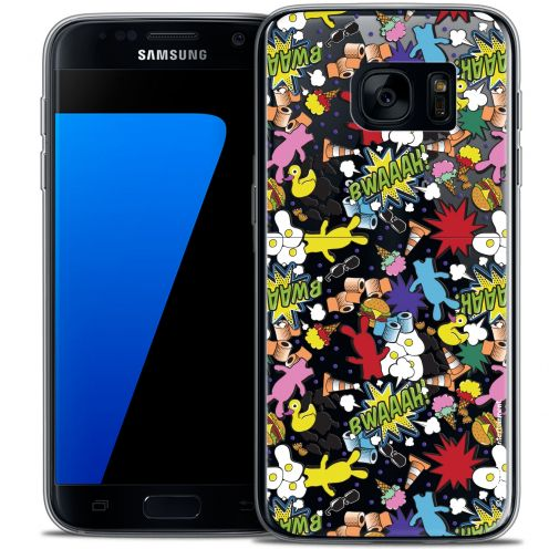 Coque Galaxy S7 Extra Fine Lapins Crétins™ - Bwaaah Pattern