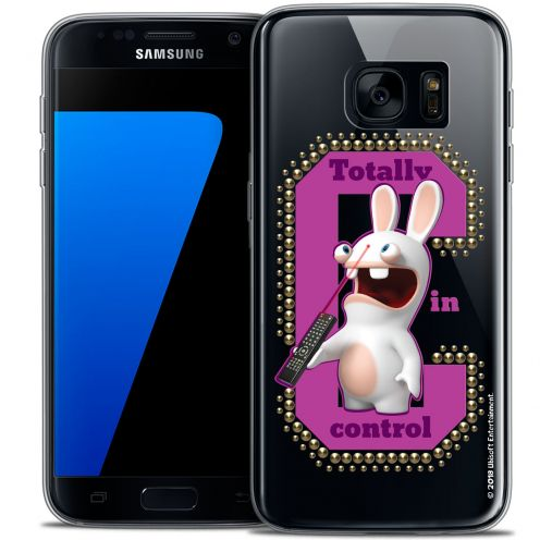 Coque Galaxy S7 Extra Fine Lapins Crétins™ - In Control !