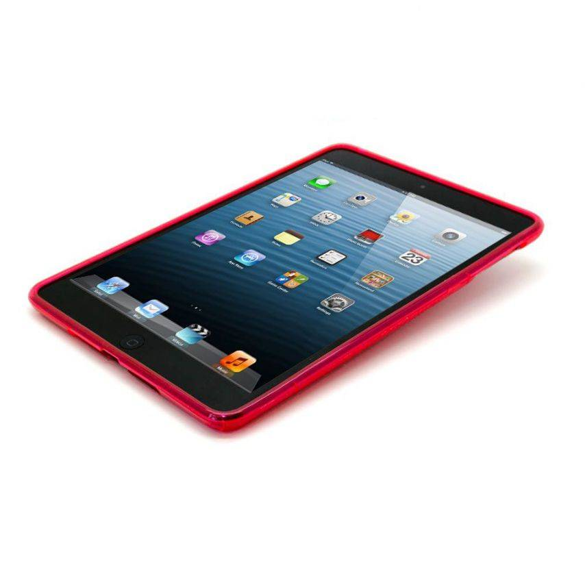 Visuel supplémentaire de Coque iPad Mini Tpu Basics S-Line Rouge