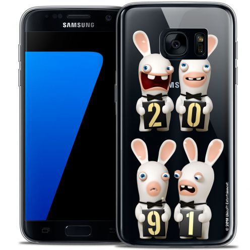 Coque Galaxy S7 Extra Fine Lapins Crétins™ - New Year