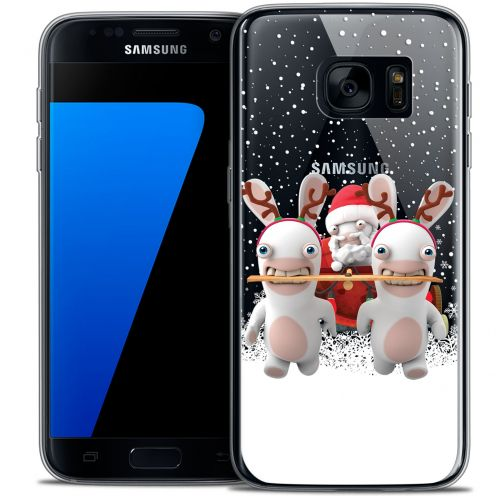 Coque Galaxy S7 Extra Fine Lapins Crétins™ - Lapin Traineau