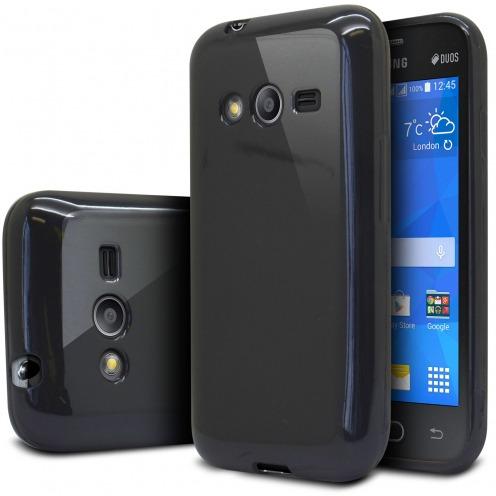 Coque Samsung Galaxy Trend 2 Lite Shiny Extra Fine Gel Noir