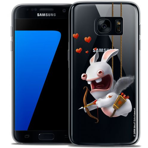 Coque Galaxy S7 Extra Fine Lapins Crétins™ - Flying Cupidon