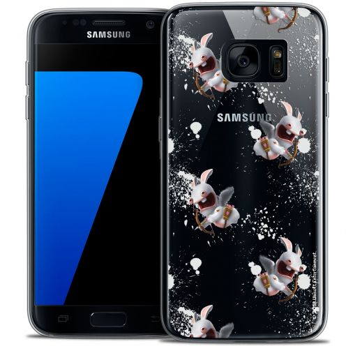 Coque Galaxy S7 Extra Fine Lapins Crétins™ - Cupidon Pattern