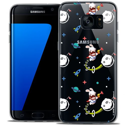 Coque Galaxy S7 Edge Extra Fine Lapins Crétins™ - Space 2